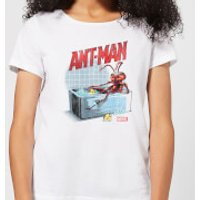 Marvel Bathing Ant Women's T-Shirt - White - XXL - White