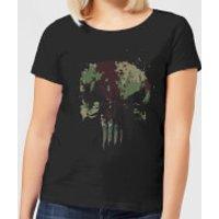 Marvel Camo Skull Women's T-Shirt - Black - S - Black