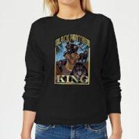 Marvel Black Panther Homage Women's Sweatshirt - Black - XS - Black