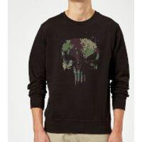 Marvel Camo Skull Sweatshirt - Black - 5XL - Black - Camo Gifts