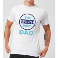 The World's Best Dad Men's T-Shirt - White - S - White