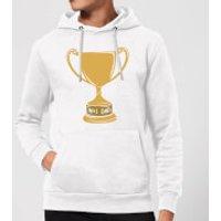 No.1 Dad Trophy Hoodie - White - XXL - White