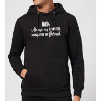 Dad: Always My Father, Forever My Friend Hoodie - Black - XXL - Black