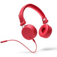 Mixx OX1 Wired 3.5mm Stereo Headphones - Red - Music Gifts