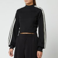 Y-3 Women's 3 Stripe Crew Sweatshirt - Black - M