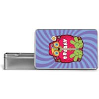 Hippie Psychedelic Cartoon Metal Storage Tin - Hippie Gifts