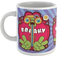 Hippie Psychedelic Cartoon Mug - Hippie Gifts