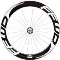 Fast Forward F6T Track Front Tubular Wheel - White