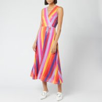 Olivia Rubin Women's Thea Dress - Rainbow Stripe - UK 14