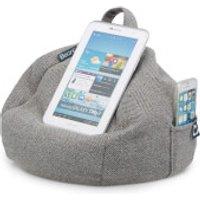 iBeani iPad Tablet, eReader Bean Bag Stand - Herringbone Grey - Computers Gifts