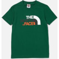 The North Face Boys Easy Short Sleeve T-Shirt - Night Green - XS