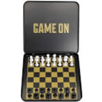 Iron & Glory Game On Magnetic Chess Set - Game Gifts