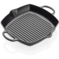Le Creuset Signature Cast Iron Deep Square Grill - 30cm - Satin Black