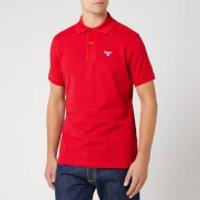 Barbour Men's Tartan Pique Polo Shirt - Red - M