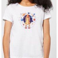 Blast Off Women's T-Shirt - White - S - White