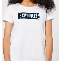 Explore! Women's T-Shirt - White - M - White