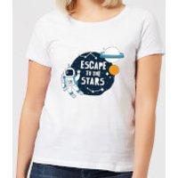 Escape To The Stars Women's T-Shirt - White - XS - White - Stars Gifts
