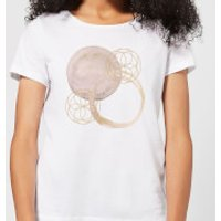 Watercolour Swirls Women's T-Shirt - White - XXL - White