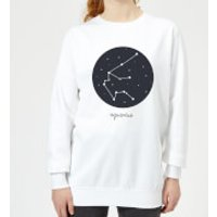 Aquarius Women's Sweatshirt - White - 5XL - White