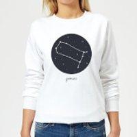 Gemini Women's Sweatshirt - White - L - White