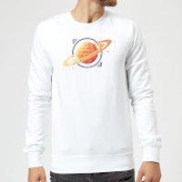 Saturn Sweatshirt - White - 5XL - White