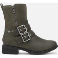 UGG Women's Wilde Buckle Biker Boots Boots - Slate - UK 3