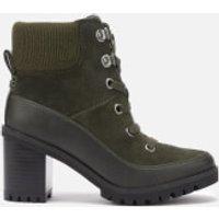 UGG Women's Redwood Lace up Heeled Boots - Black Olive - UK 4