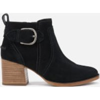 UGG Women's Leahy Buckle Heeled Ankle Boots - Black - UK 4