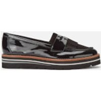 Dune Women's Gracella Patent Loafers - Black - UK 3