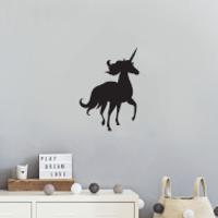 Running Unicorn Wall Decal - Sport Gifts