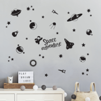 Space Adventures Decal Pack - Space Gifts