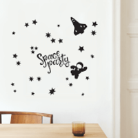 Space Party Decal Pack - Party Gifts