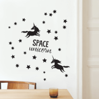 Space Unicorn Decal Pack - Space Gifts