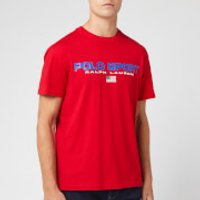 Polo Sport Ralph Lauren Men's Logo Classic Fit T-Shirt - Red - XL