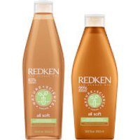 Redken Nature + Science All Soft Shampoo and Conditioner Bundle