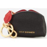 Lulu Guinness Womens Peekaboo Lip Colette Keyring - Black