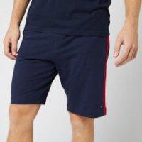 Tommy Hilfiger Men's Jersey Panel Shorts - Navy Blazer - S