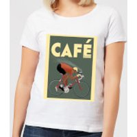 Mark Fairhurst Cafe Racer Women's T-Shirt - White - S - White