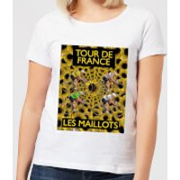 Mark Fairhurst TDF Les Maillots Women's T-Shirt - White - M - White