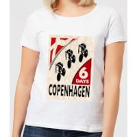 Mark Fairhurst Six Days Copenhagen Women's T-Shirt - White - XS - White