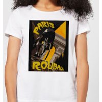Mark Fairhurst Paris Roubaix Women's T-Shirt - White - XXL - White