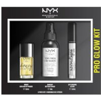 NYX Professional Makeup Pro Glow Face and Lip Gift Set (Worth PS29.00)