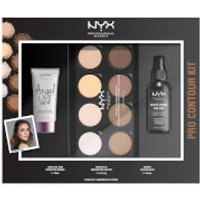 NYX Professional Makeup Pro Contour Gift Set (Worth PS40.00)