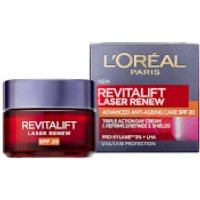 L'Oreal Paris Revitalift Laser Renew Anti-Ageing Cream SPF20 50ml