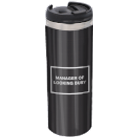 Manager Of Looking Busy Stainless Steel Thermo Travel Mug - Travel Gifts