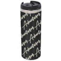 Adventurer - Masculine Stainless Steel Thermo Travel Mug - Metallic Finish - Travel Gifts