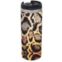 Snake Print Stainless Steel Thermo Travel Mug - Snake Gifts