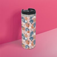 Pink Blue Camo Stainless Steel Travel Mug - Camo Gifts