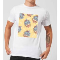 Cassette Tape Love Pattern Men's T-Shirt - White - M - White