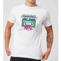 Product Of The 90's VHS Tape Men's T-Shirt - White - L - White